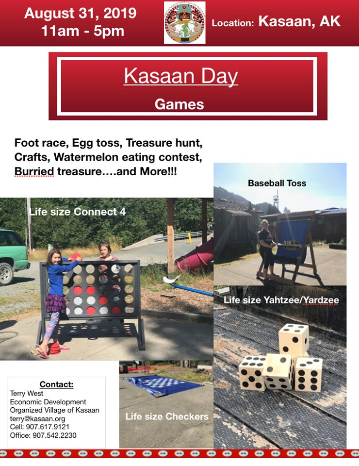 Kasaan Day Games 2019