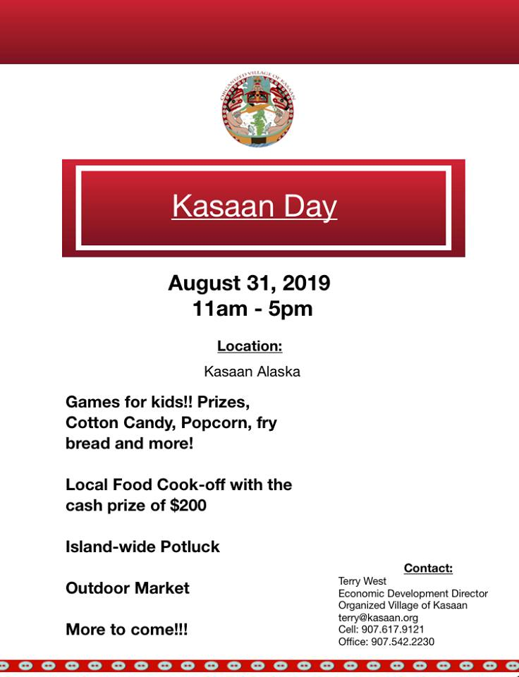 Kasaan Day Events 2019