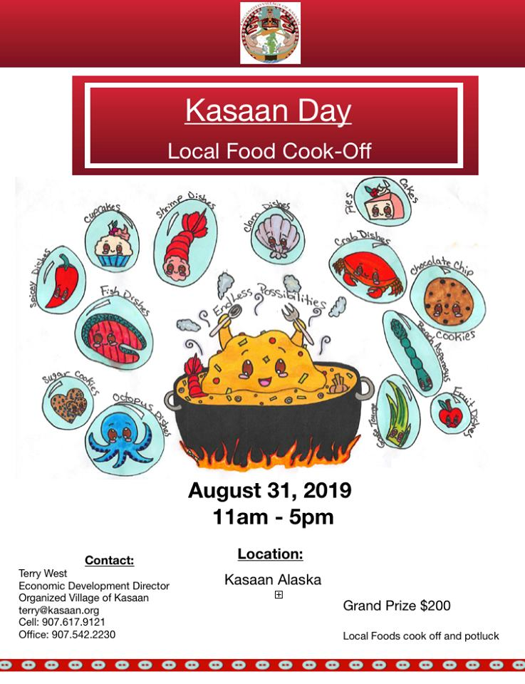 Kasaan Day Cookoff 2019