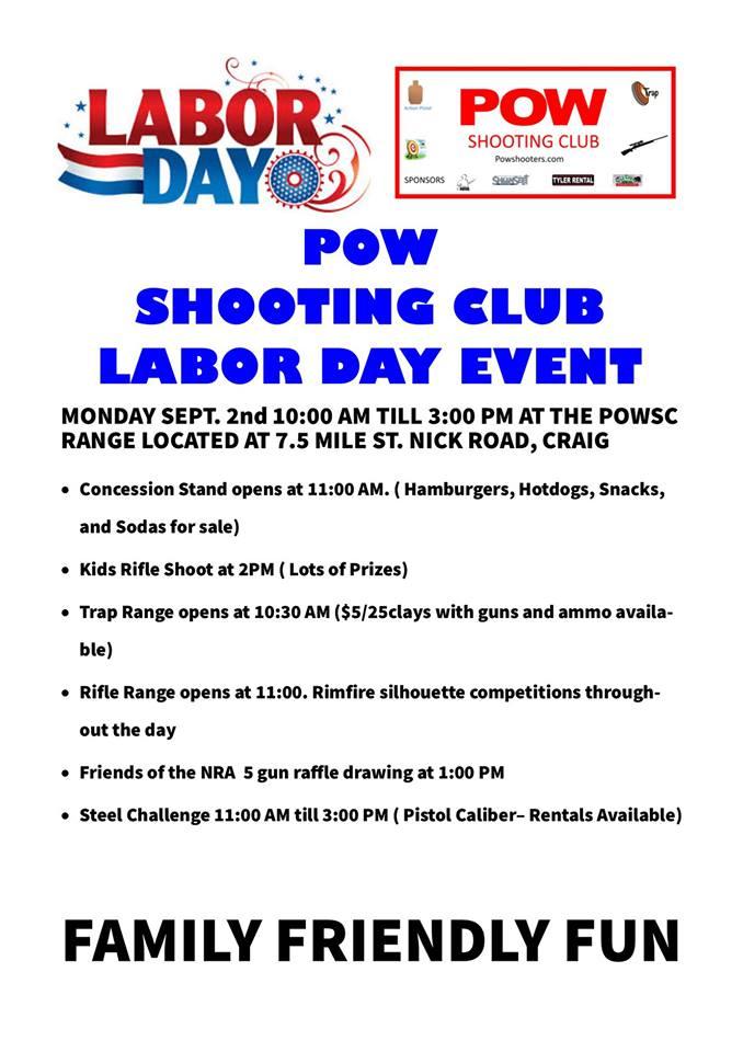 POW Labor Day Shoot 2019