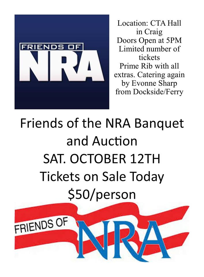 Friends of the NRA Banquet 2019