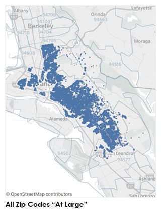 All Oakland communities    Learn about our work throughout Oakland