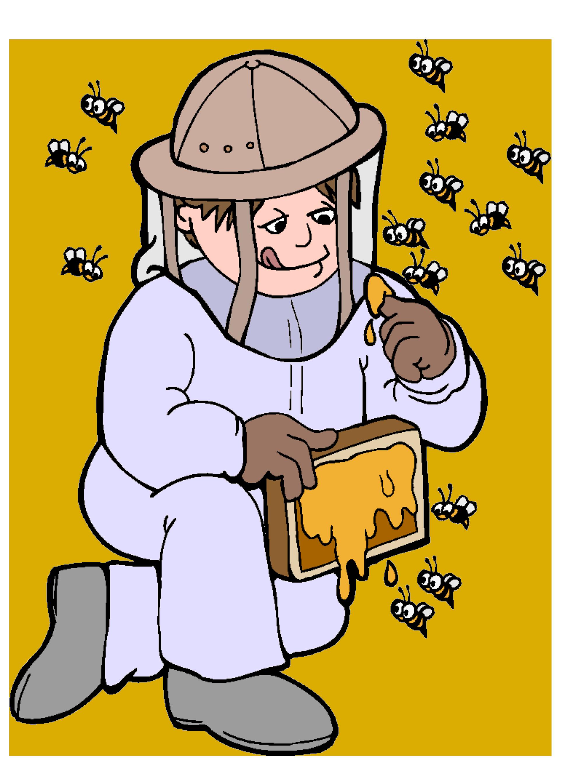 Man Beekeeper