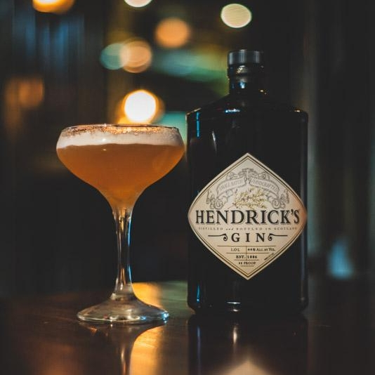 STROKE OF LUCK   • 1.25 oz. Hendricks Gin  • 1 oz.   Cap Course • .5 oz. Capelletti Aperitivo  • 1. Combine ingredients into a mixing glass over ice and stir until chilled. • 2. Strain into a coupe glass. • 3. Top with Salers Gentiane foam. • 4. Garnish with grated lemon zest.