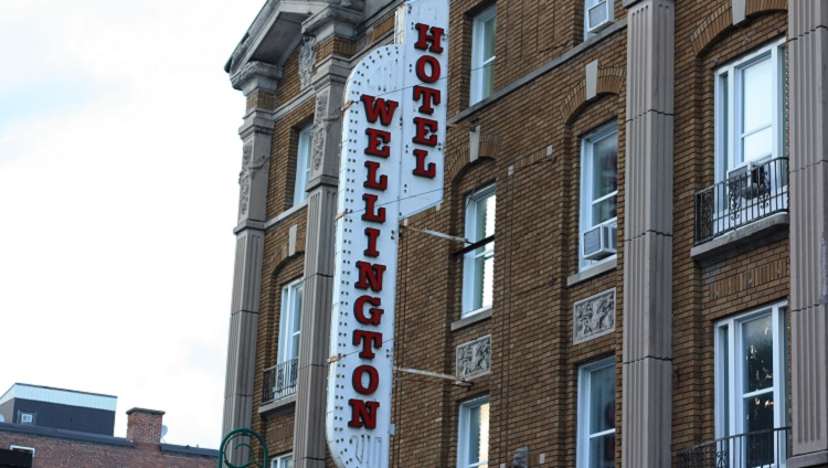 Hôtel Wellington Sherbrooke