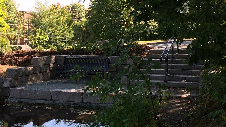 Placette au Domaine Howard de Sherbrooke
