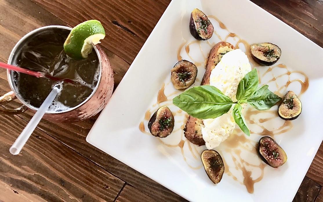 Jobs Lane Gastro Pub  - Burrata with Figs