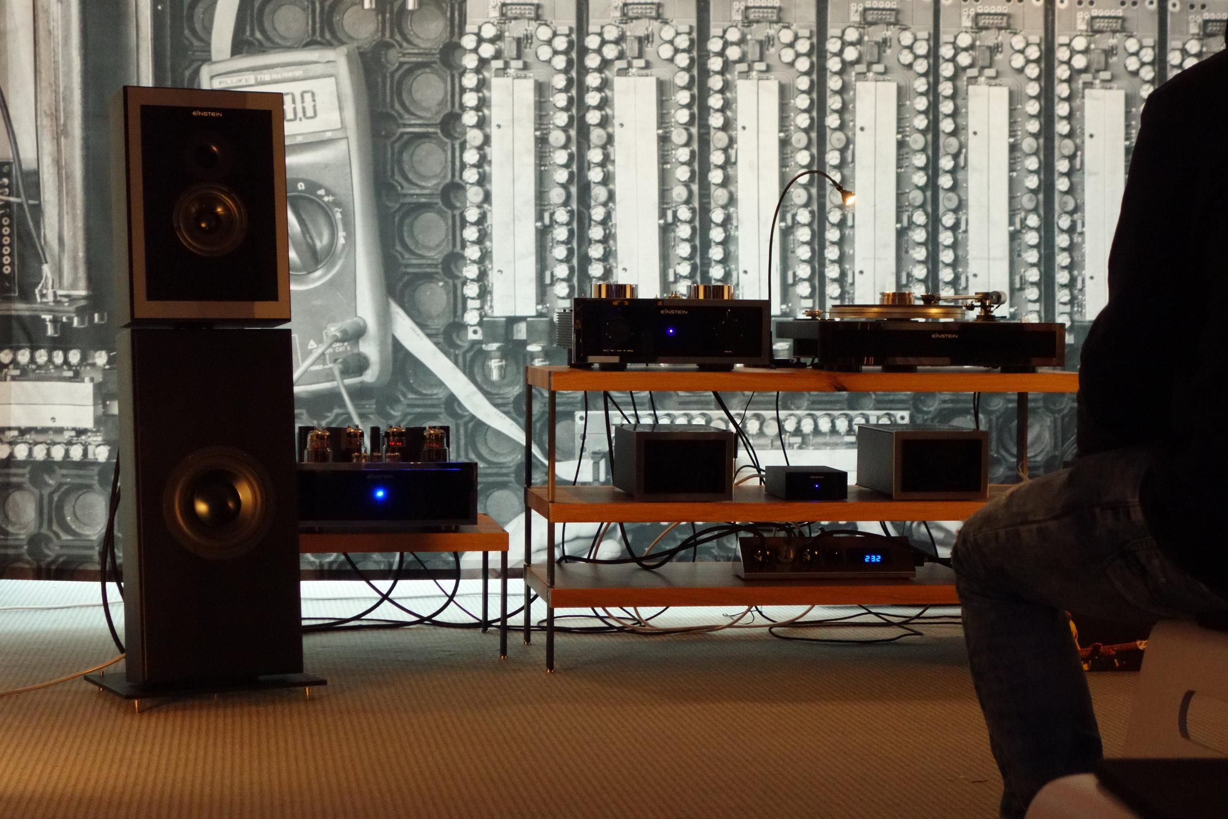HighEnd München 2019 zusammen mit Einstein-Audio