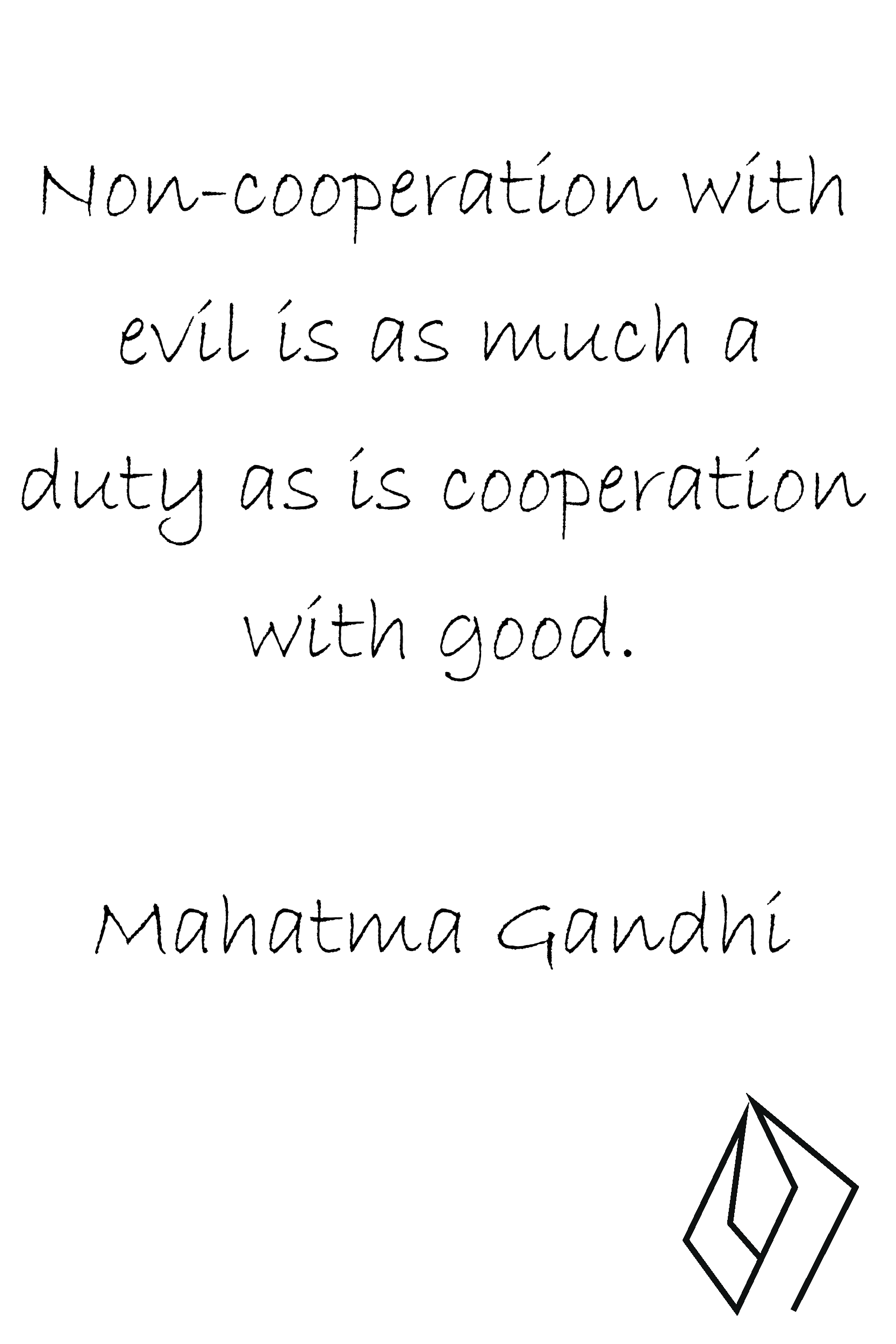 #noncooperation with evil is a #duty.png