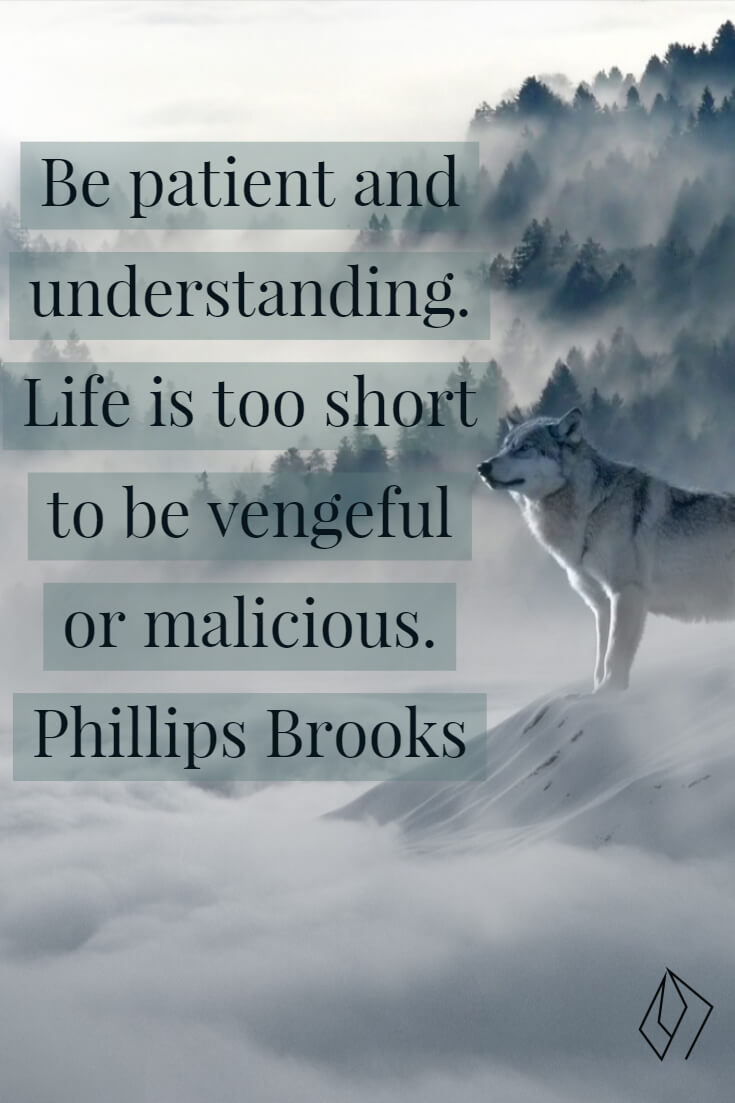 life is too short to be #malicious #patience.jpg