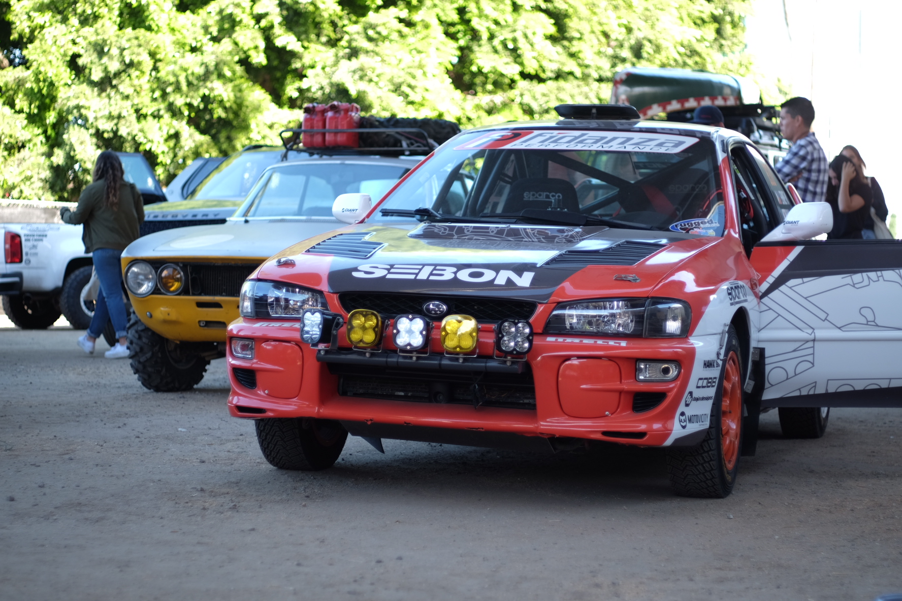 Ernie Manansala Subaru 2.5 RS SCCA Rally Car