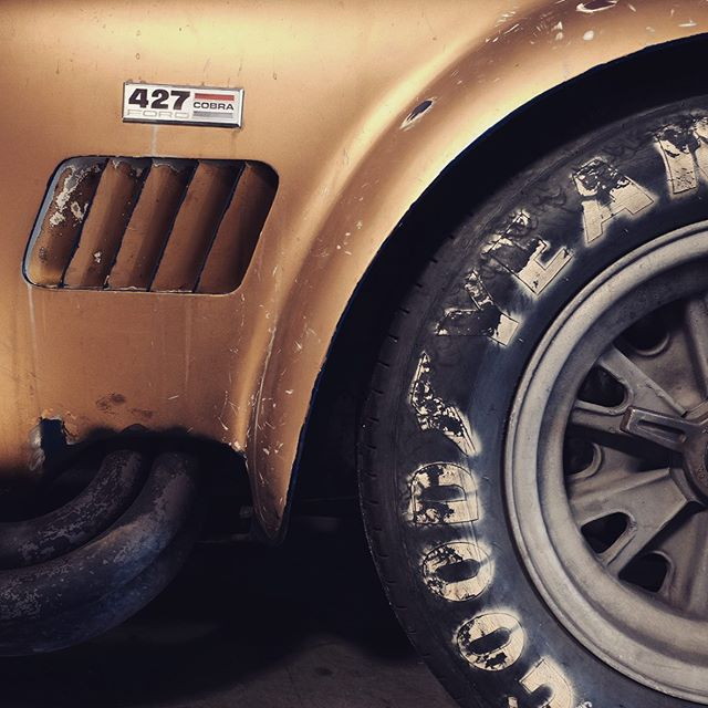 Preserved and used. Just how we like it. #autoconduct #driveallthings #ford #shelbycobra #fordvferrari