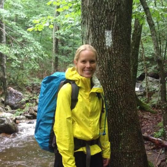 Hiking on the Appalachian.