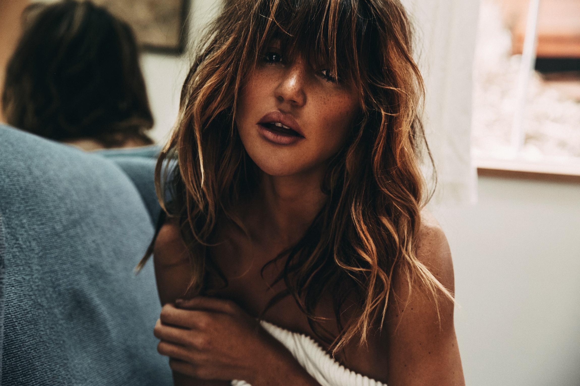 Hair  by Lulu Bernal  Photo: Jeremy Gudac