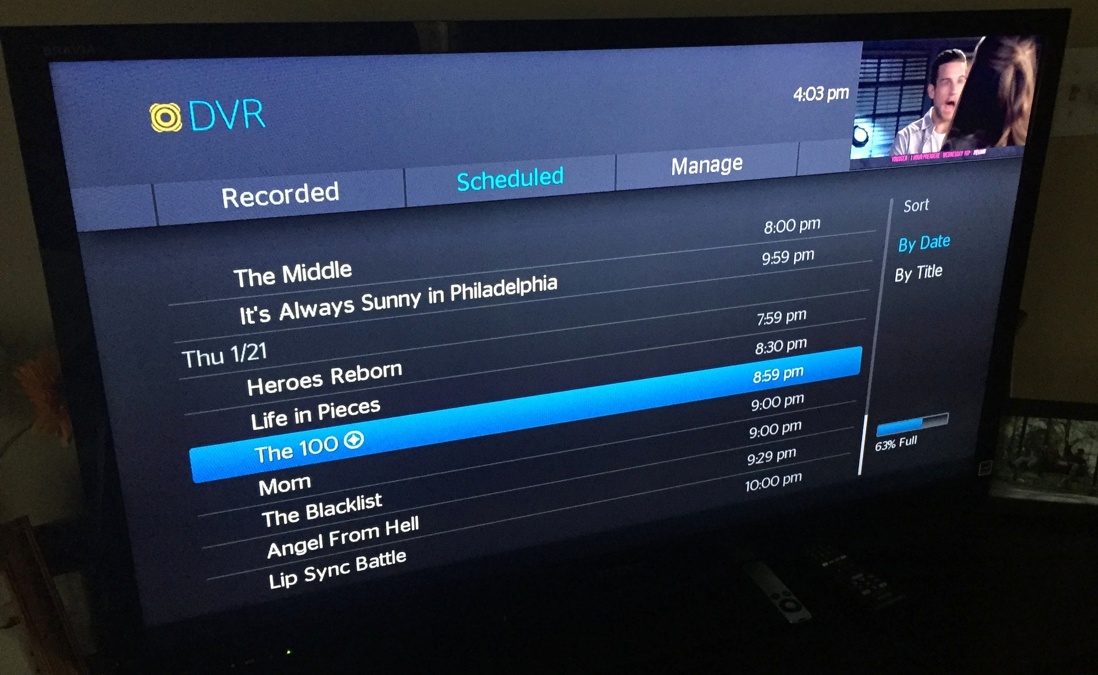 Cutting the Cord - The story of a girl & her DVR.