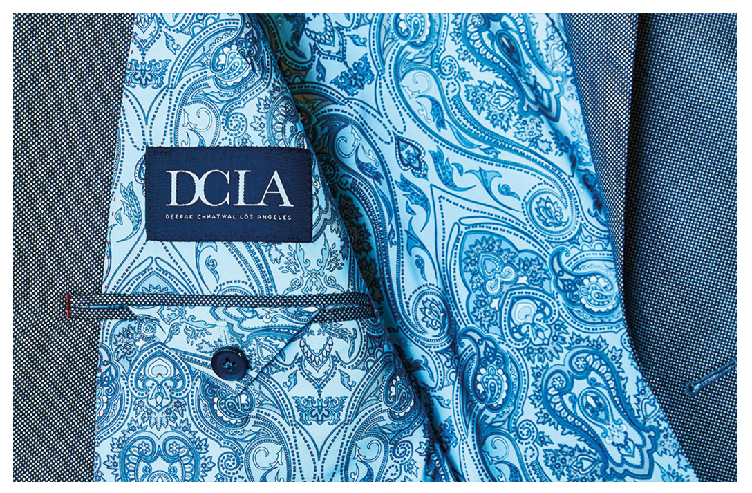 Suit by DCLA - Fabric by Loro Piana