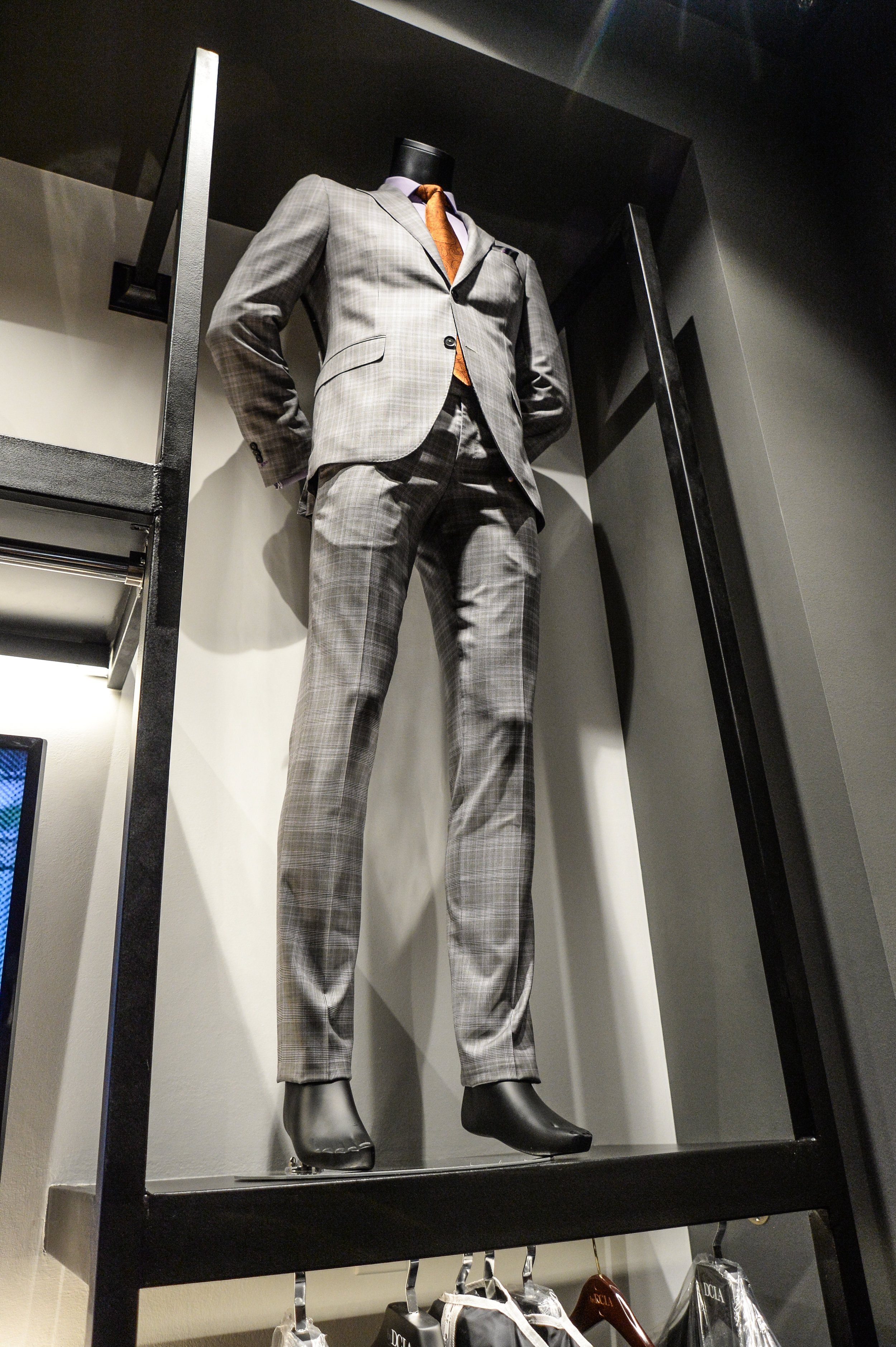 Suit by DCLA - Fabric by Guabello