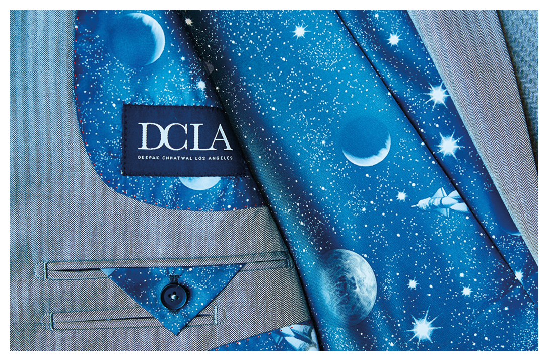Suit by DCLA - Fabric by Zegna