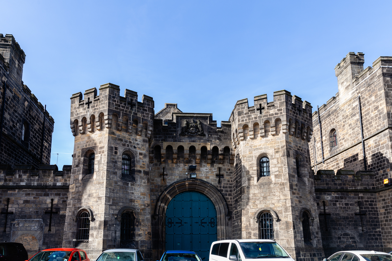 The old front of Armley prison