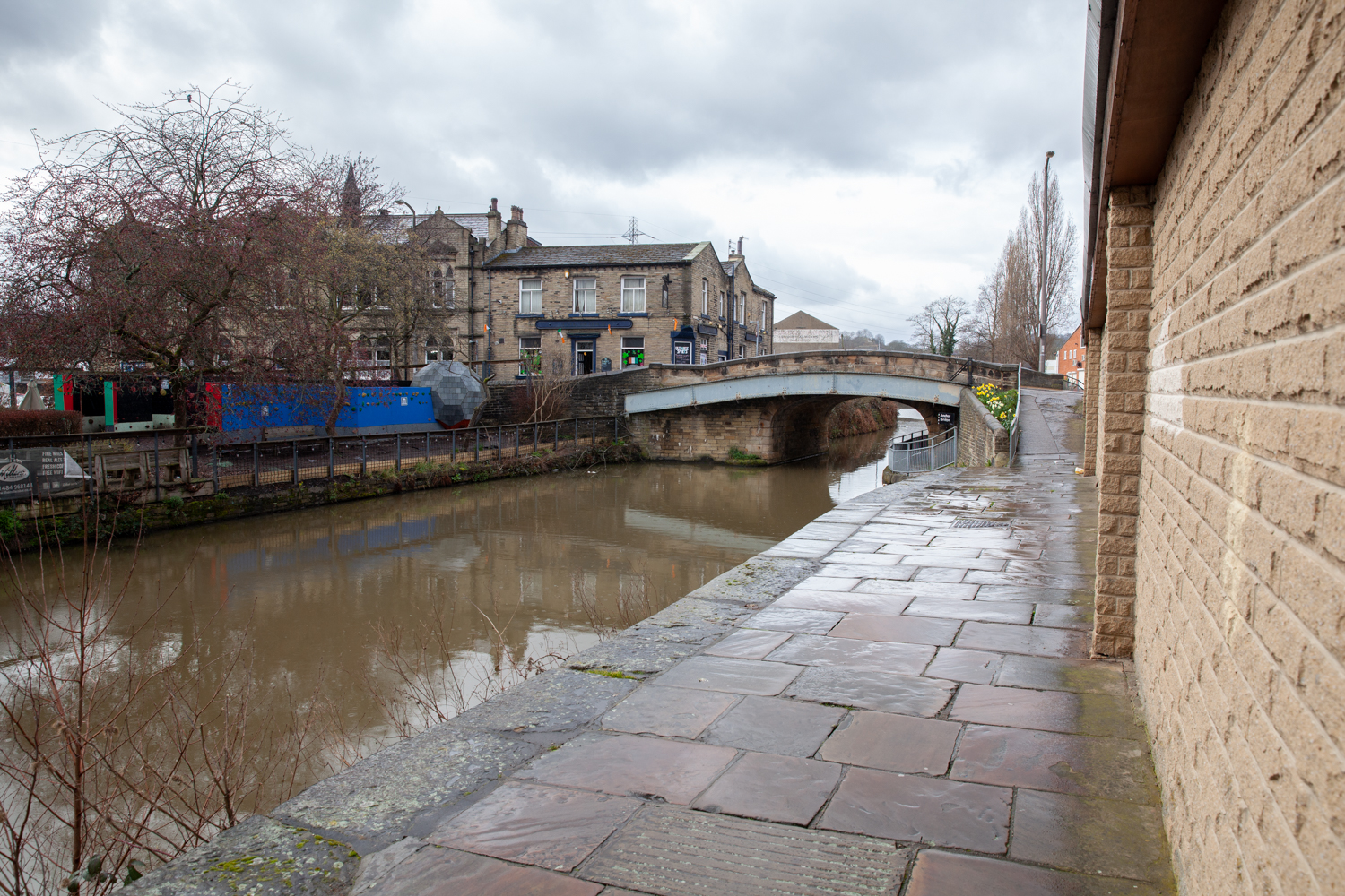 Calder and Hebble Navigation in Brighouse.