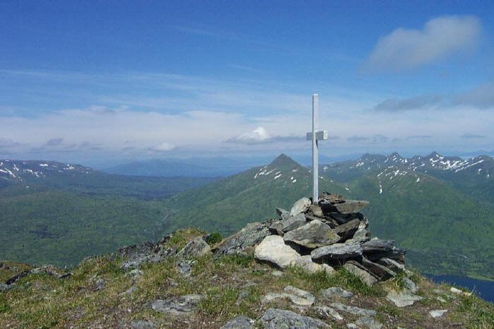 Mt. Barometer memorial