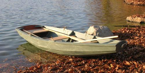 Rowing pram