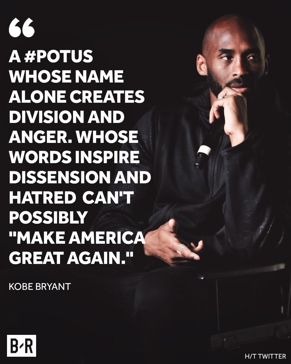 Kobe Bryant on the United States and President Donald Trump