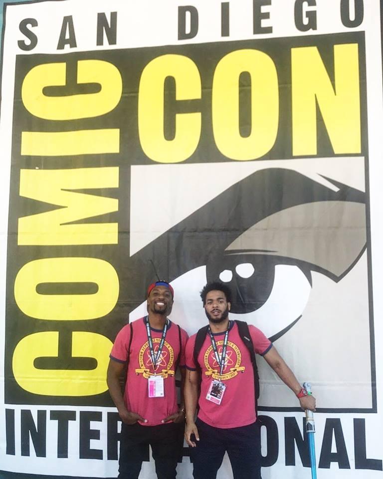 2018 Comic-Con International: San Diego - Peter Darker
