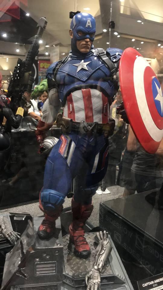 Captain America - Comic Con - Peter Darker