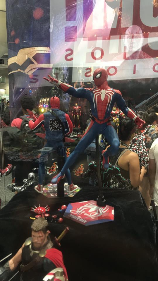 Spider-Man PS4 - Comic Con - Peter Darker
