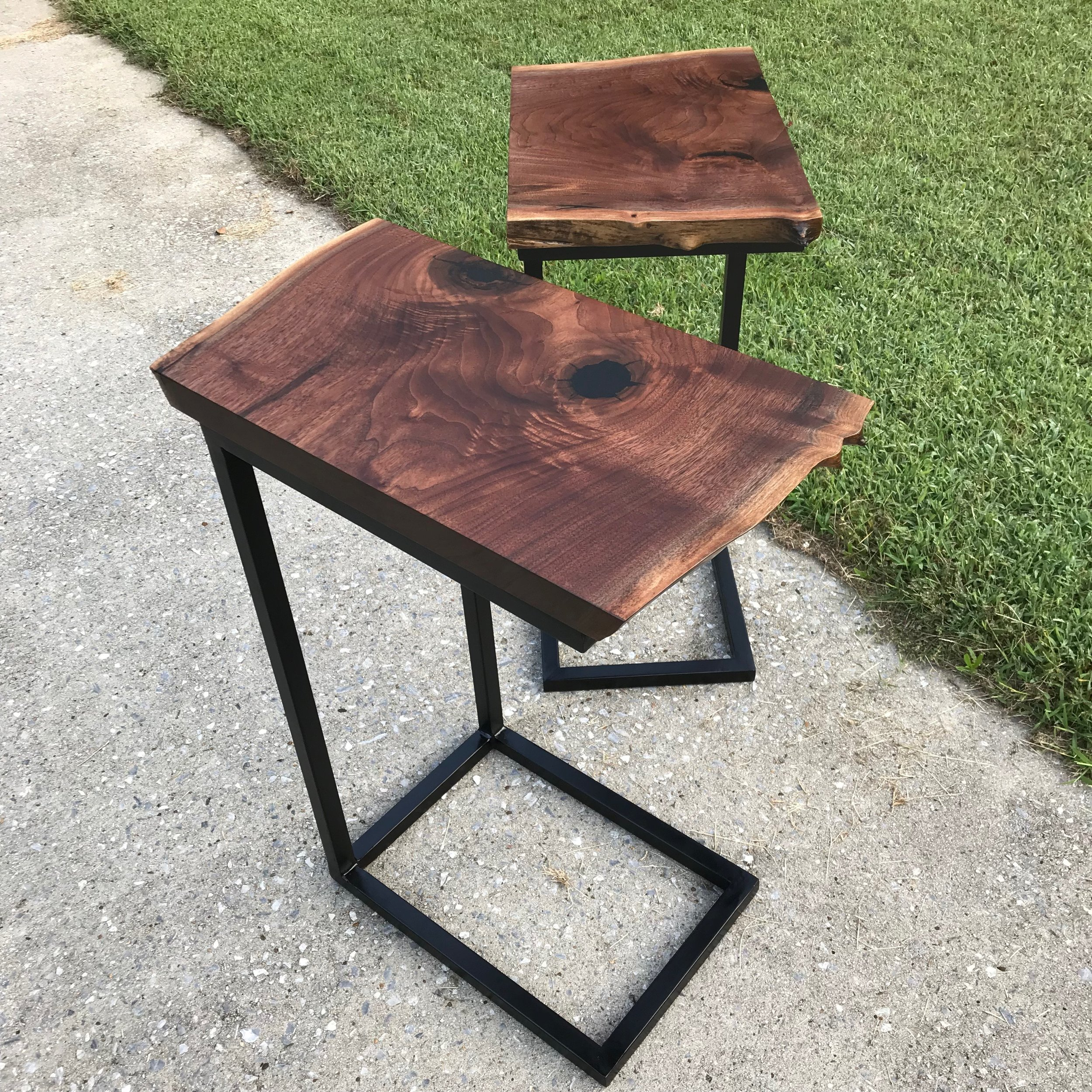 Walnut Slab Side Tables.JPG