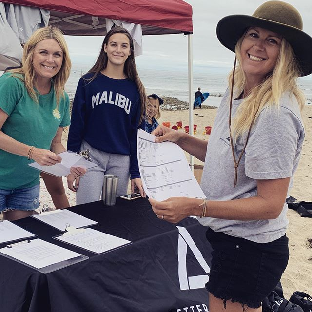Serving at Free Surf Camp for military families. So blessed to serve with @bettertogetherministries and you can still sign up to serve at a shift at our website at link in Bio.
