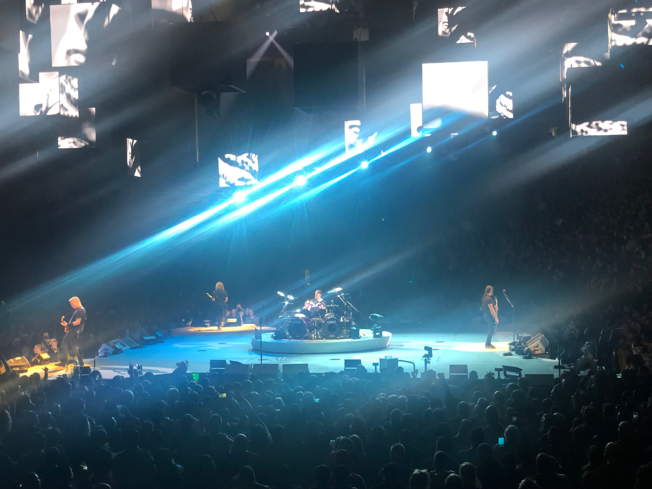 Metallica, Live at the Golden1 Center in Sacramento, California - 12/7/18