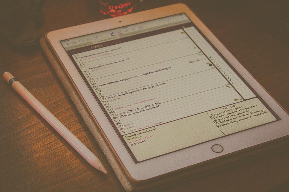 How I use iPad + GoodNotes -