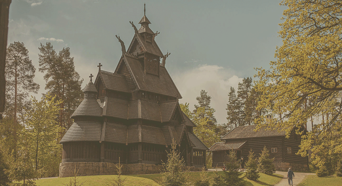 Gol stave church - SO BEAUTIFUL DANGIT