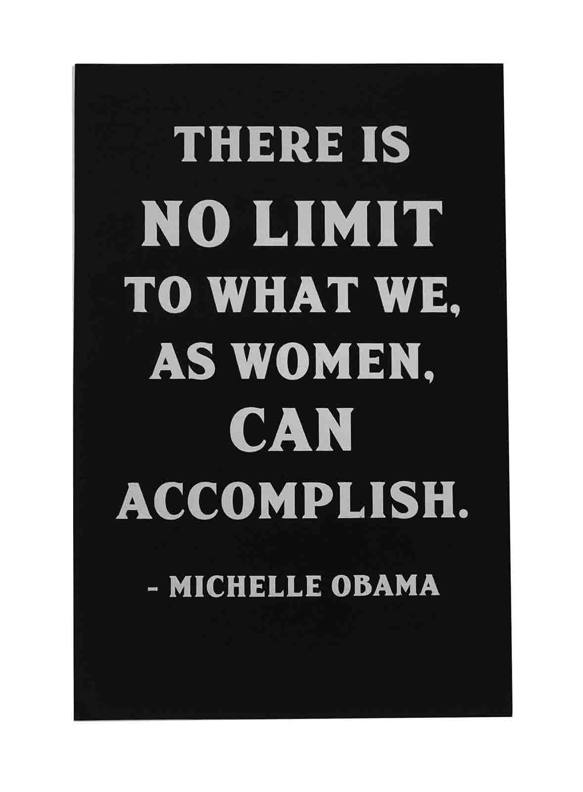 Ape_Bleakney_'There Is No Limit' Women's March Poster on Construction Blacktop, 12.5''x19''.jpg