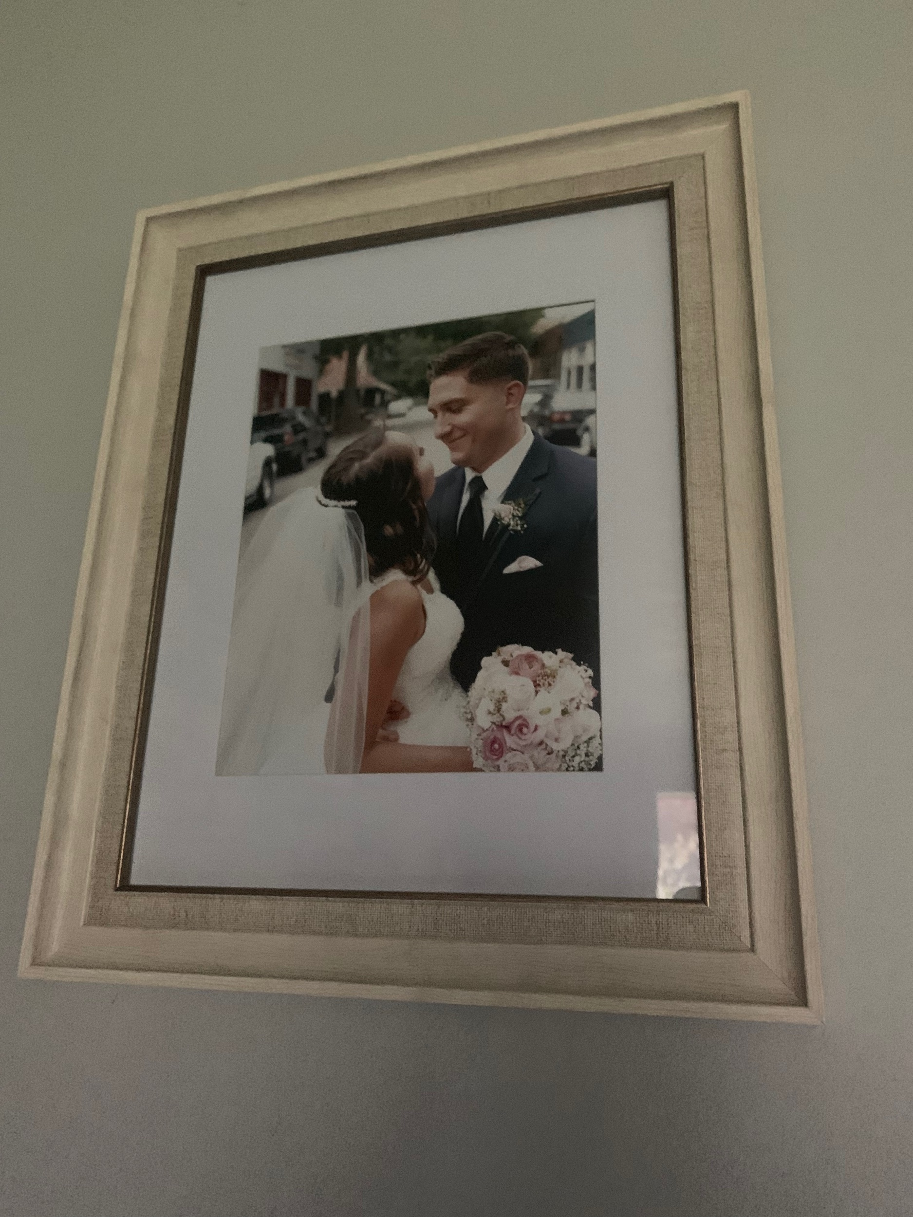 Here's an up close photo of the frame with the photo in it!