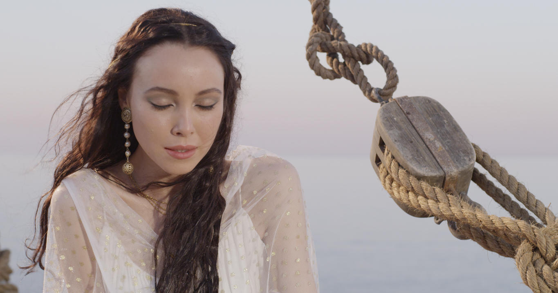 "Katerina as a St. Catherine Teaser ""Fallen Eagle Broken Wings"" Teaser directed by Ilyas Kaduji"