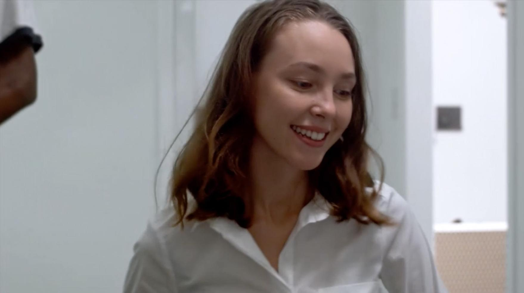 """Katerina as a social worker. Clip from""""Company of Prophets"""" directed by Malcolm Carter"""