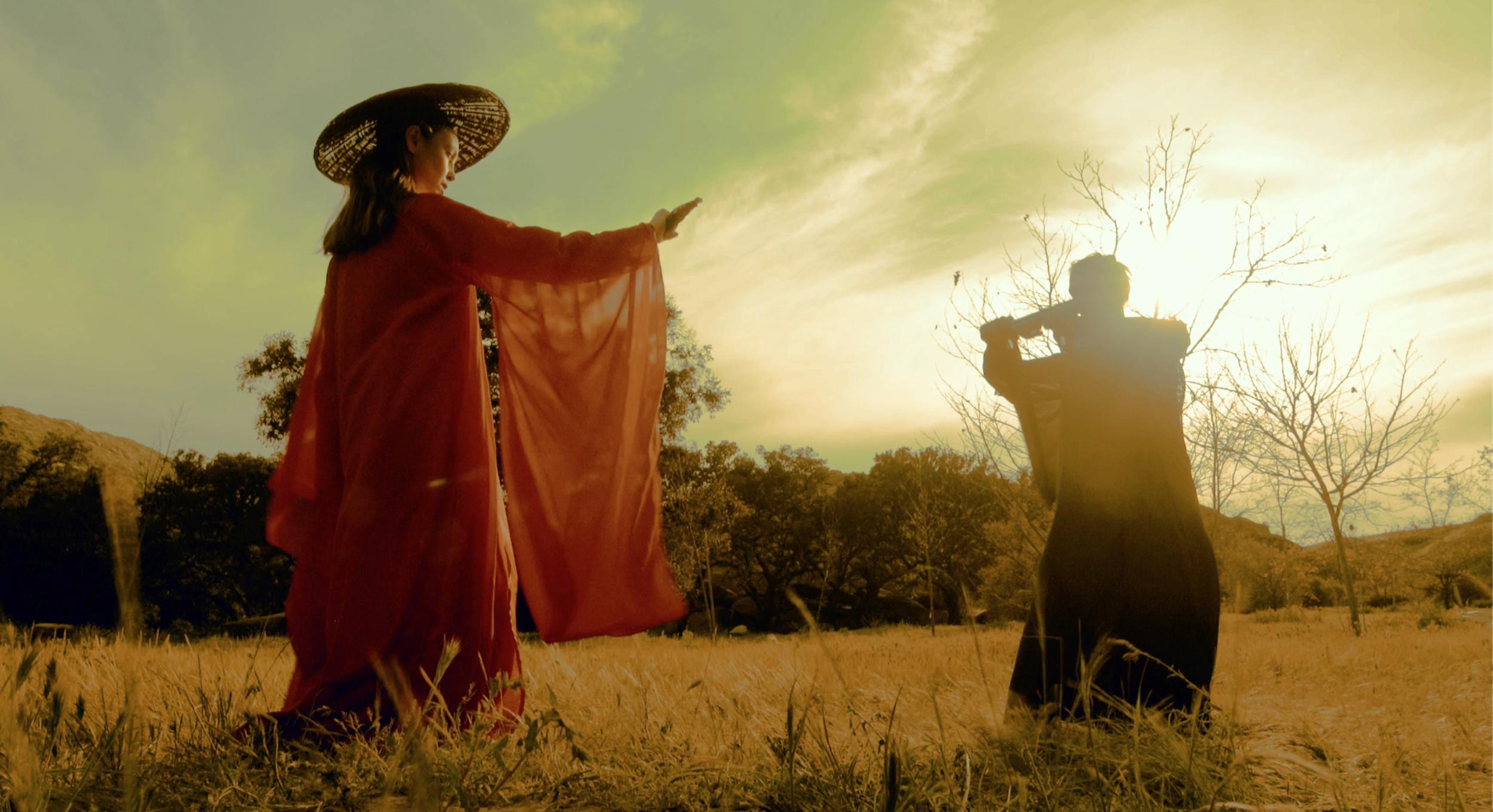 "Katerina as the assassin. ""Mengpo Soup"" Directed by Jiashu Li"