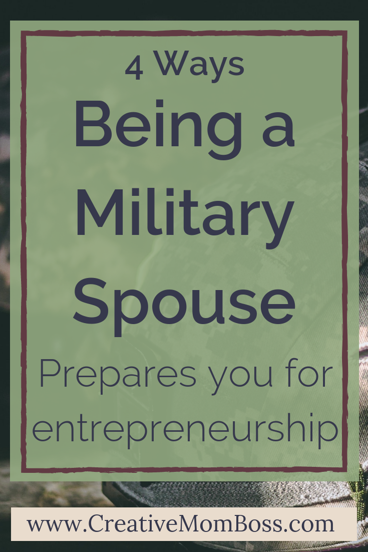 Being a military spouse makes you uniquely qualified to be an entrepreneur -- it is the hard and fast training required for running your own business. We'll talk 4 ways that being a military spouse prepares you for entrepreneurship, specifically selling on etsy and working from home.