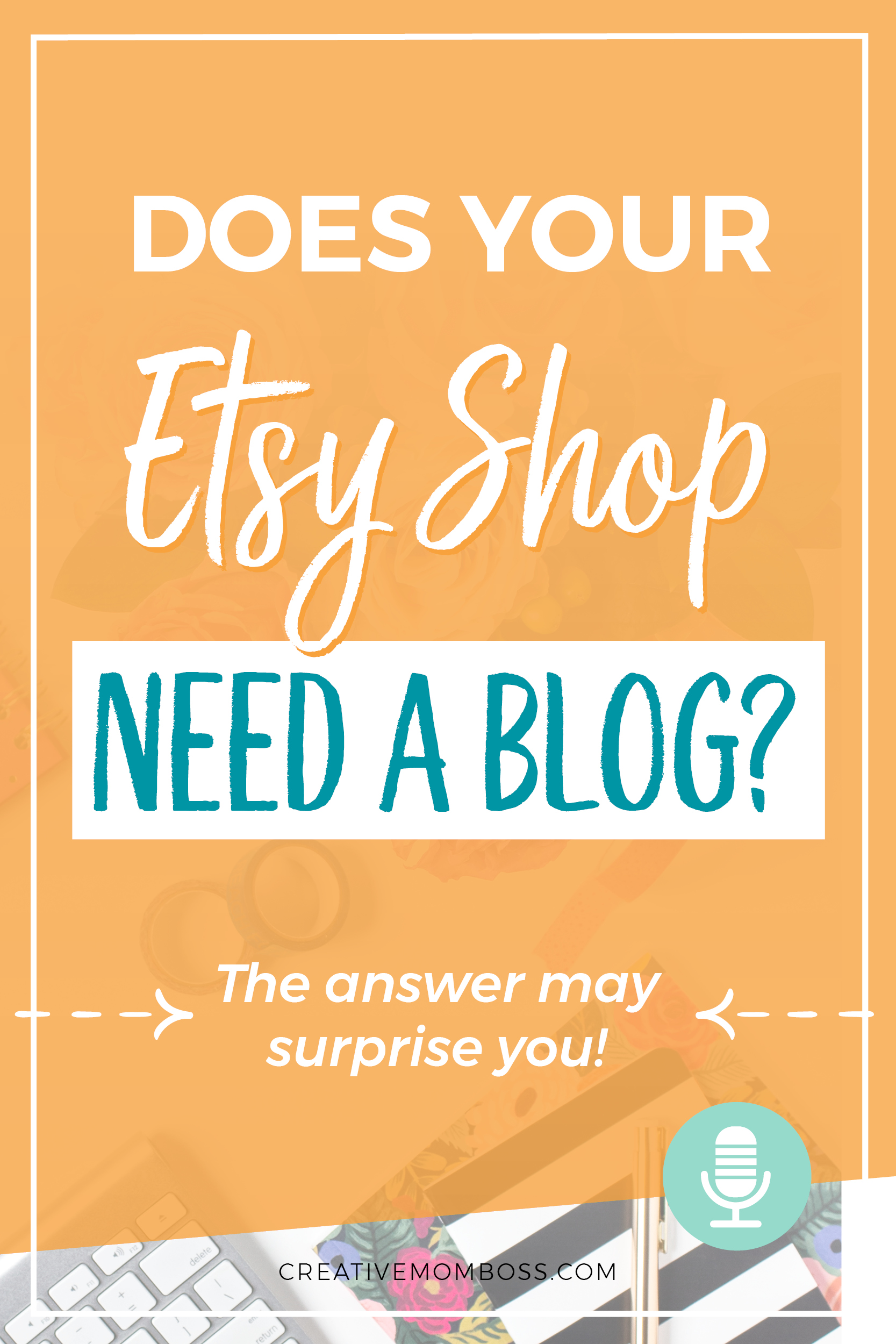 Blogging for your Etsy shop? Terrible advice. Here's what to do instead.