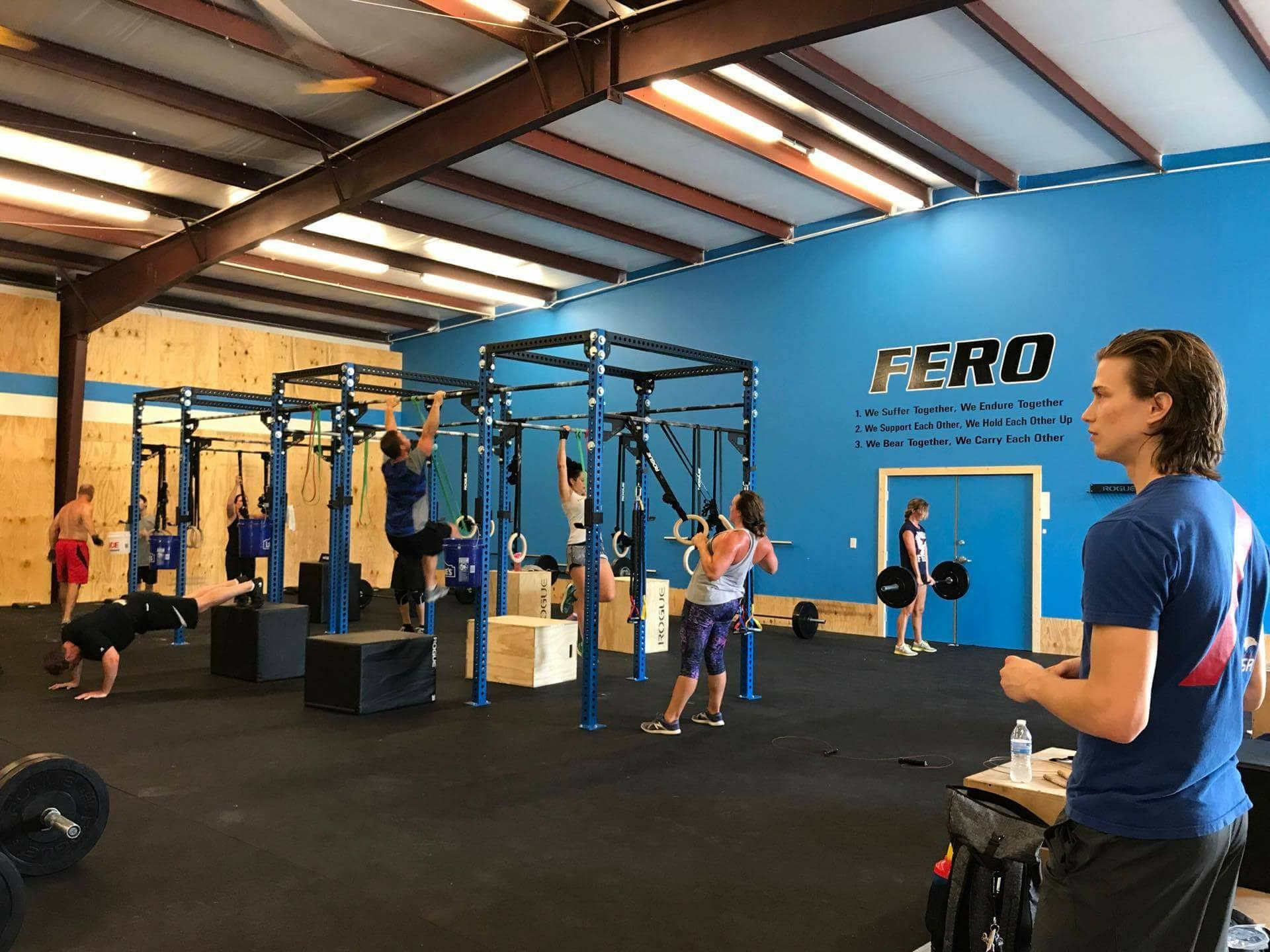 Custom movements to fit your needs - Think you can't do Fero Fit because of lack of mobility or past injuries. No problem. We alter the movements to what you can do to get maximum results