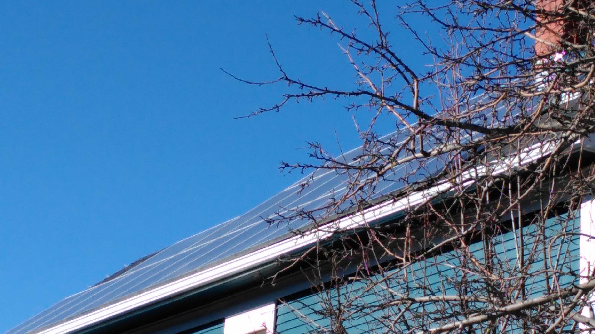 Calgary 4.2 kwsolar system -