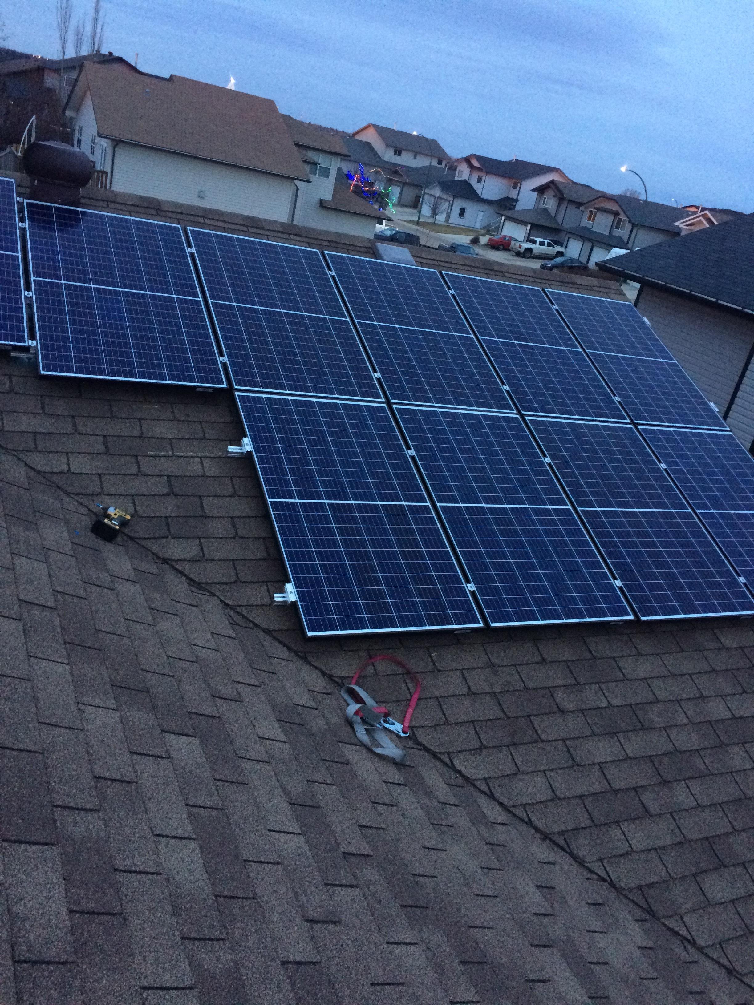5.0 kW Medicine Hat Solar System -