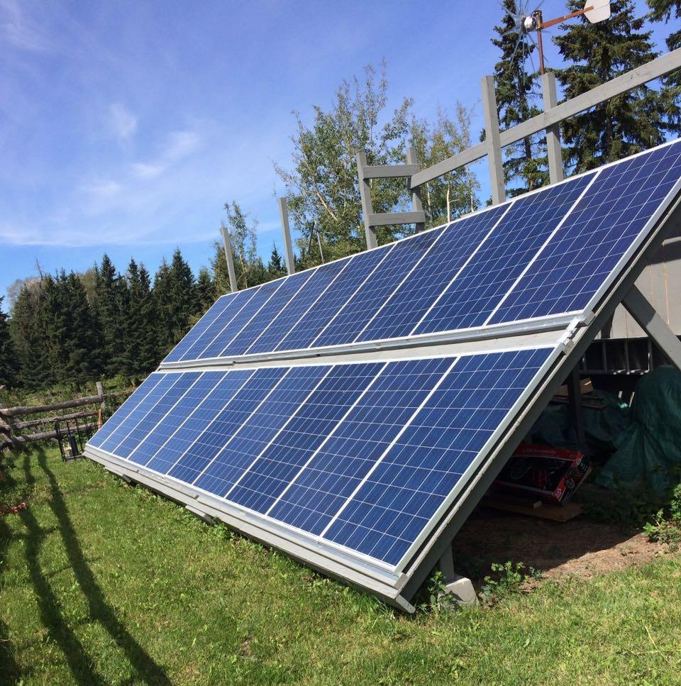9.0 kw off-grid solar system -