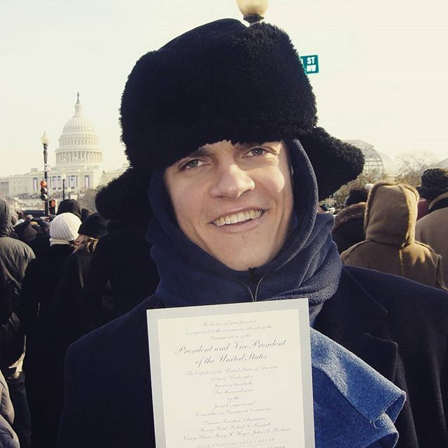 Throw back to nine years back when I played hooky to witness a fine bit of American history. President Obama, you are an example to us all of what dignity and honor mean. #inauguration #gentleman #2009 @president_obama_offical