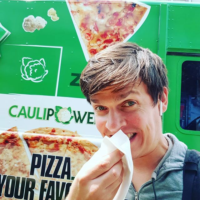 Free pizza for a year would be good. Free @caulipowered pizza for a year would be great! #caulipowertruck