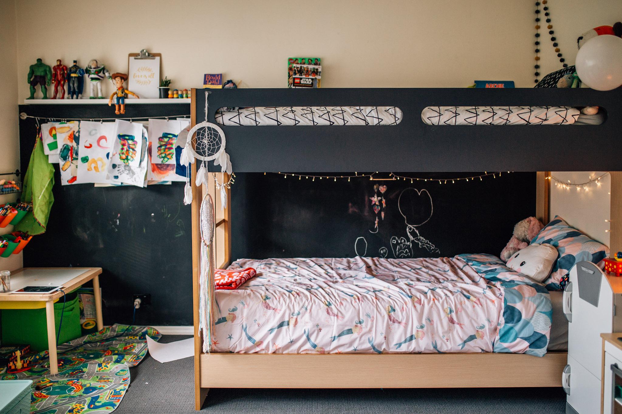 Children's bedroom.