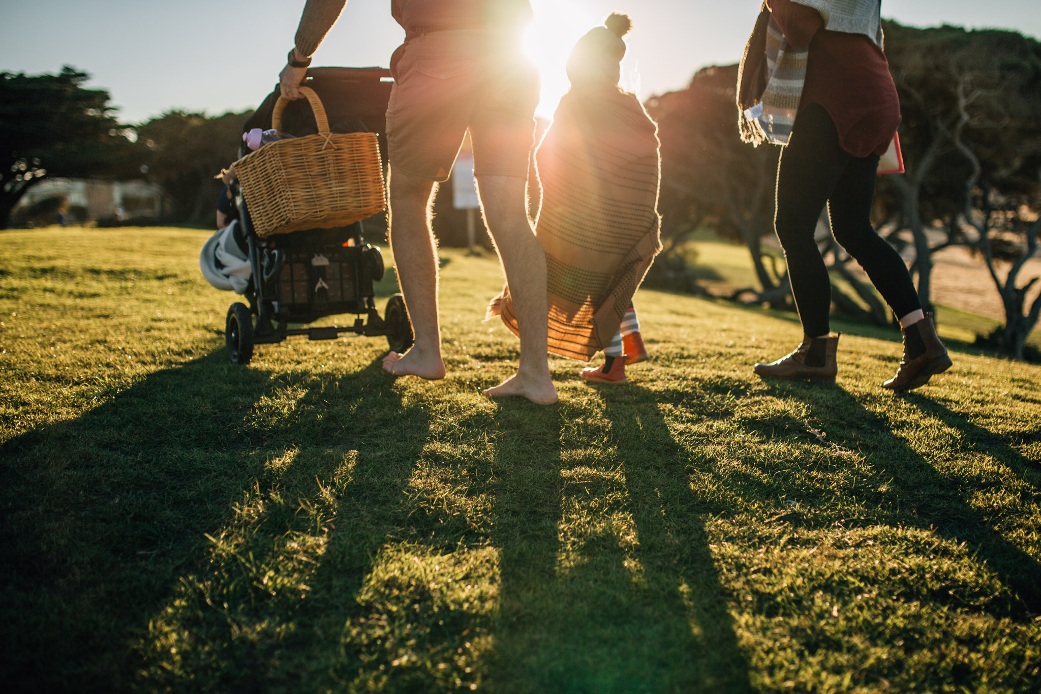 family walking into sun (1 of 1).jpg
